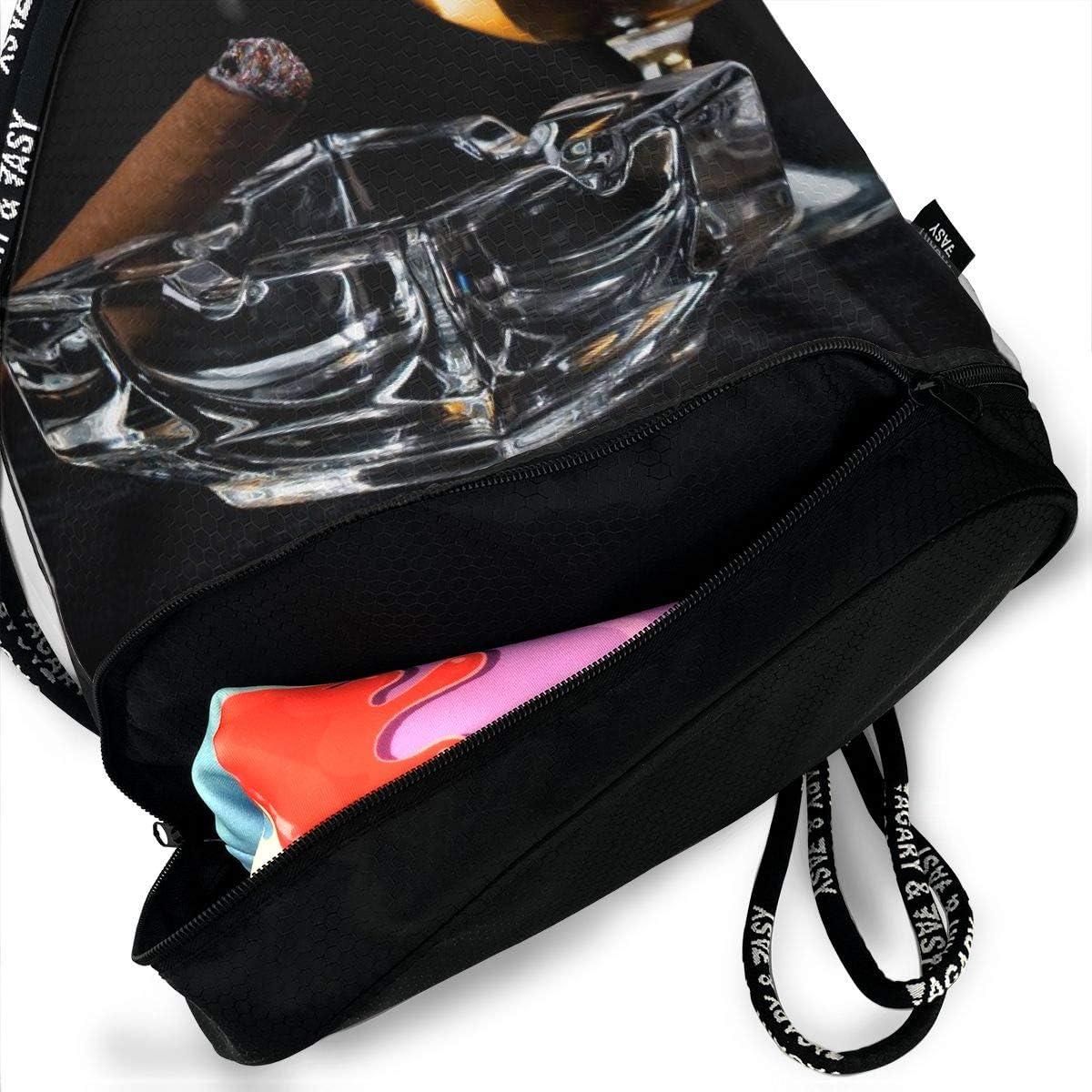 GymSack Drawstring Bag Sackpack Leisure Time Sport Cinch Pack Simple Bundle Pocke Backpack For Men Women