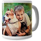 RitzPIx Photo Mug Customizable White Ceramic Perfect Personalized - 15 oz.
