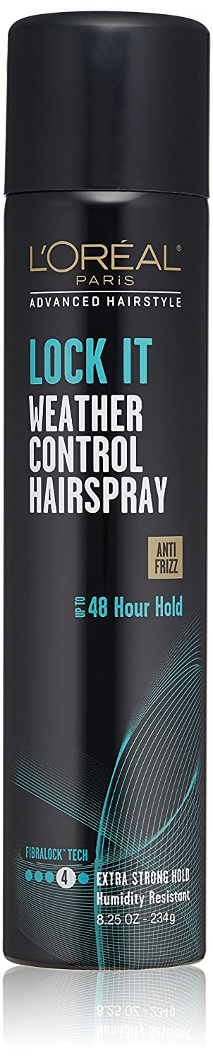 L'Oréal Paris Advanced Hairstyle LOCK IT Weather Control Hairspray, 8.25 oz.