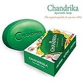 Chandrika Bath Soap Ayurvedic, 75g, 10 Pack