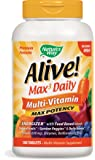 Nature's Way, Alive! Multi-Vitamin, No Iron Added, 180 Tablets