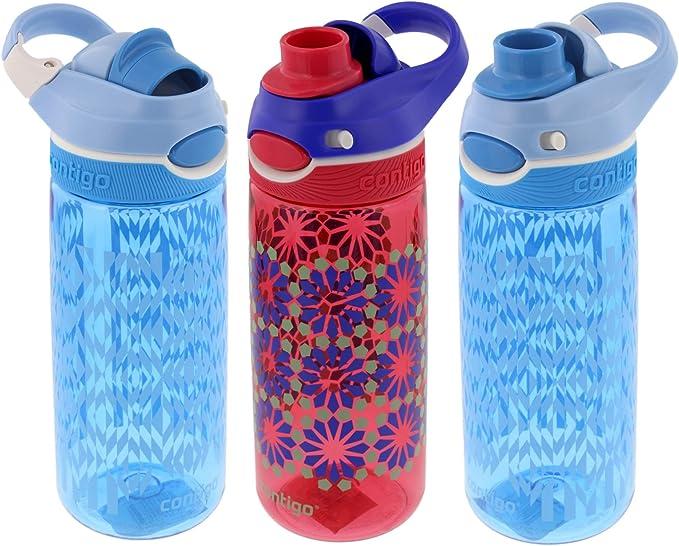 X-Tone BPA Free Flip Straw Drinks Sport Hydration WaterBottle Cycling Hiking