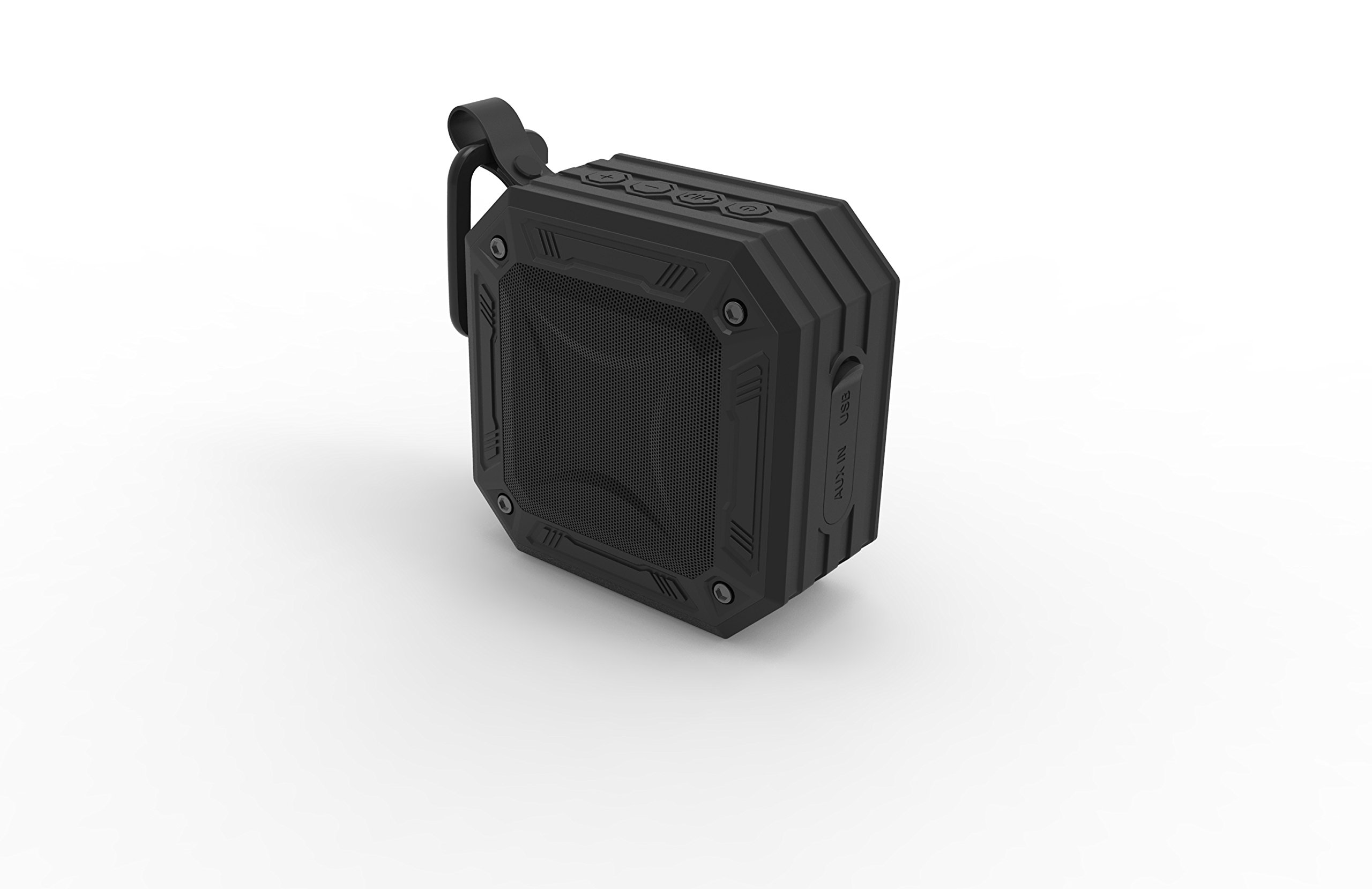 TECHQ HyrdoSound Sport - Waterproof (IP67) Outdoor Bluetooth Speaker 5W - 16 hours of play time by TECHQ (Image #4)