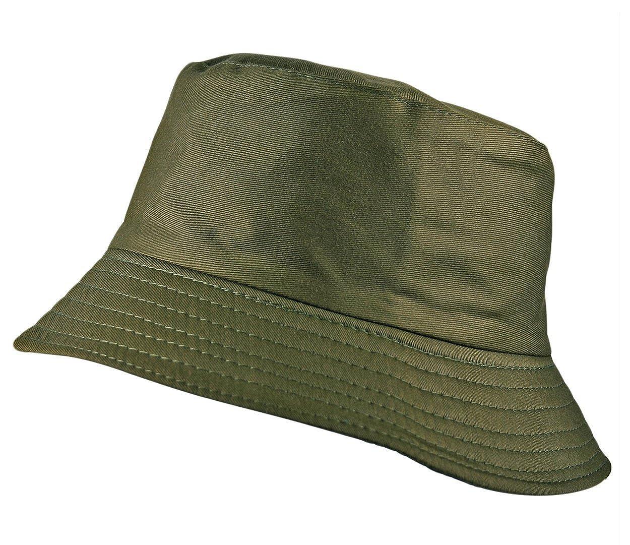 Itzu Classic Bucket Bush Hat Plain Adult Unisex in Grey  Amazon.co.uk   Clothing 3f5f9bad2aa4