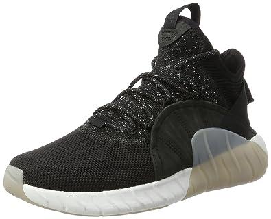 adidas Men''s Tubular Rise Hi-Top Trainers, (Core Black/