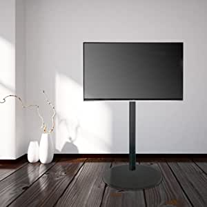 Cavus CAVF11C21M11 VESA 200 - Soporte de Suelo para TV (Base Redonda, 120 cm de Altura), Color Negro: Amazon.es: Electrónica