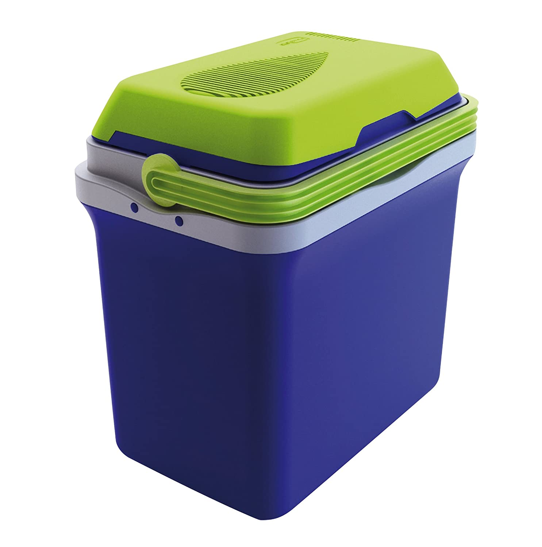 GioStyle Elektrische Kühlbox mit Einer Stromversorgung Frigo Frigorifero Elettrico Portatile Bravo 25 A++ 12/230V Gio Style per Auto Camper Casa, blau, 40x25, 0801067