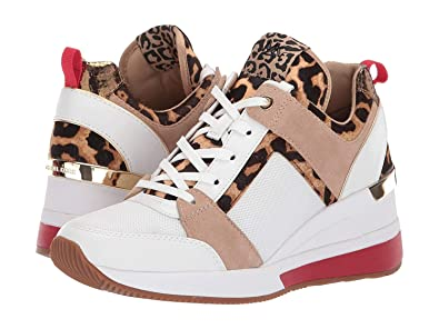 5e178f2a35157 Amazon.com | Michael Kors Mk Women's Georgie Trainer Mesh Sneakers ...