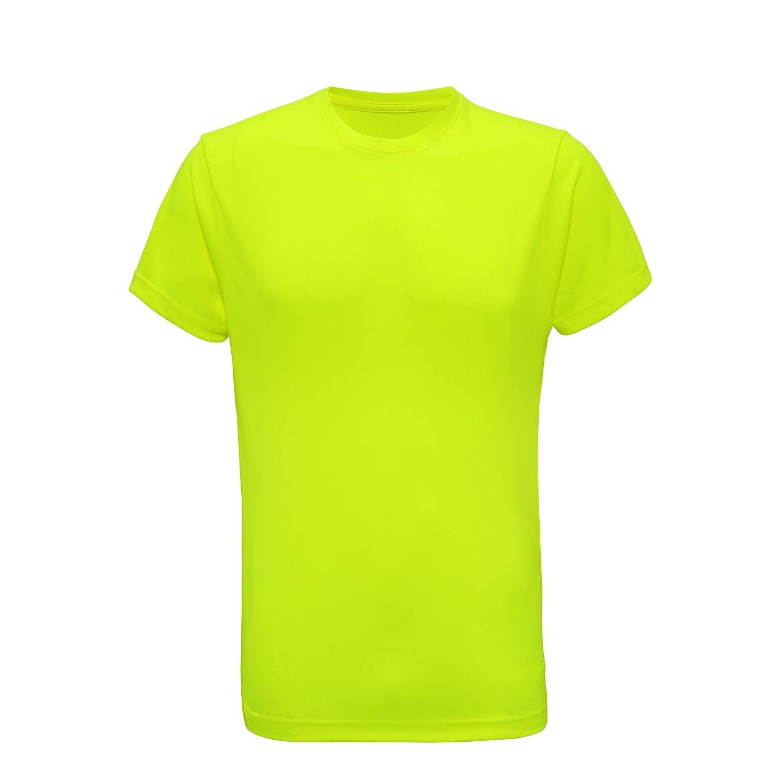 Tri Dri Herren Fitness T-Shirt, kurzärmlig kurzärmlig