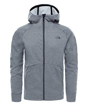 North Face M VERSITAS Hoodie - Chaqueta, Hombre, Gris - (TNF Medium Grey Heather): Amazon.es: Deportes y aire libre