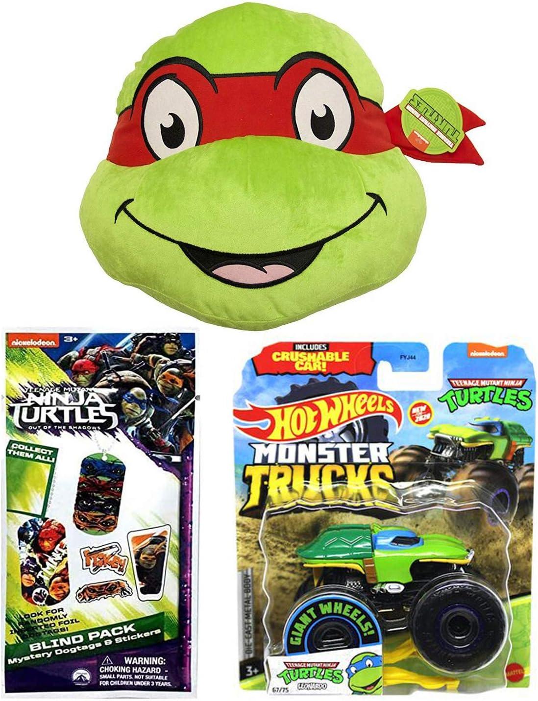 Hot Wheels Leonardo Teenage Mutant Ninja Turtles Character Car Diecast 1:64