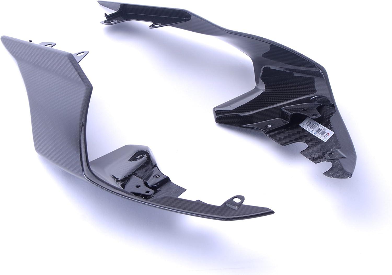 Bestem Carbon Fiber Rear Tail Side Housing Covers Fairings Twill for 2015-2018 Yamaha R1 R1M R1S