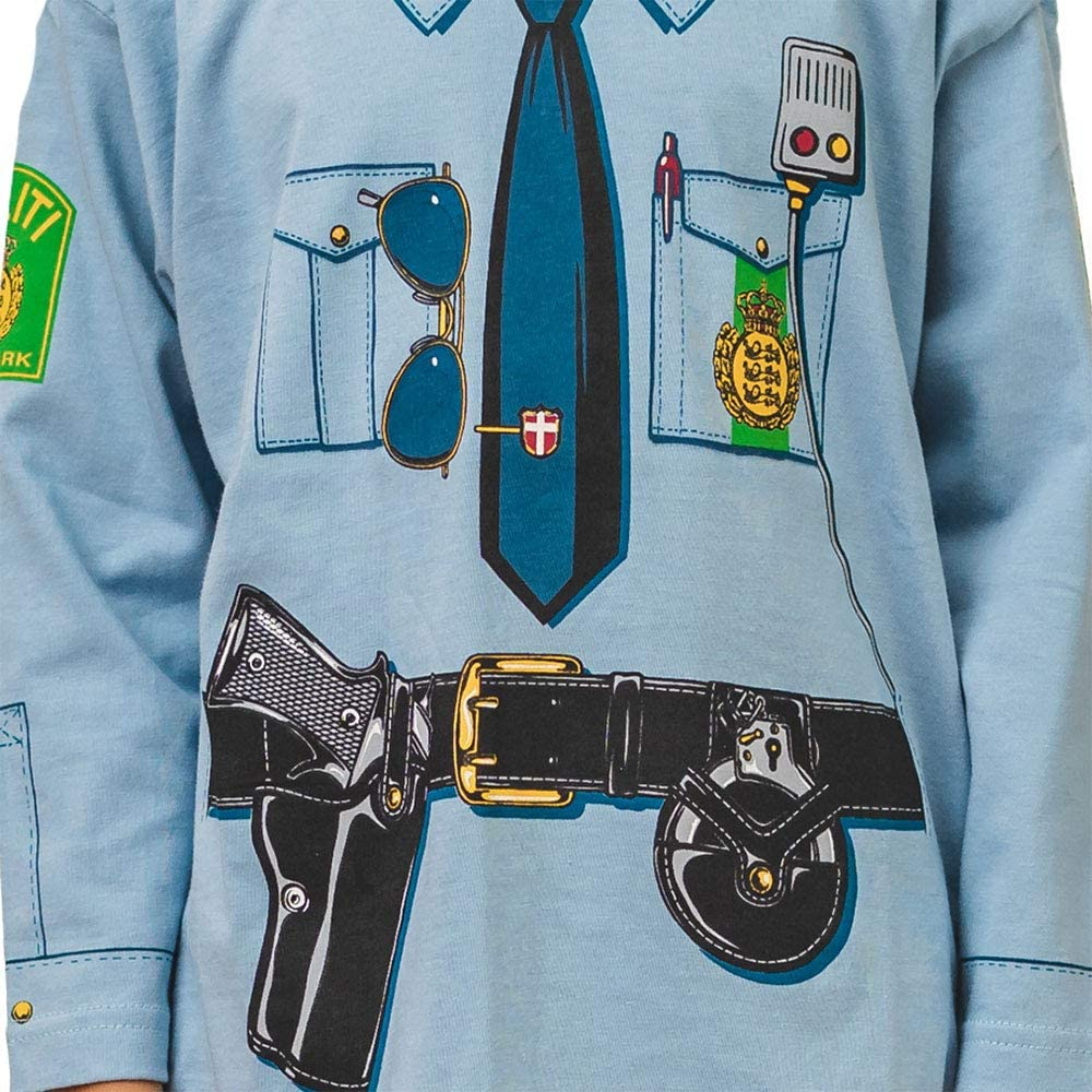 Pijama de Policía Danés y Ropa Casera Divertida: Amazon.es: Ropa y ...
