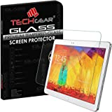 TECHGEAR® Samsung Galaxy Note 10.1 2014 Edition (SM-P600 / SM-P605) GLASS Edition Genuine Tempered Glass Screen Protector Guard Cover