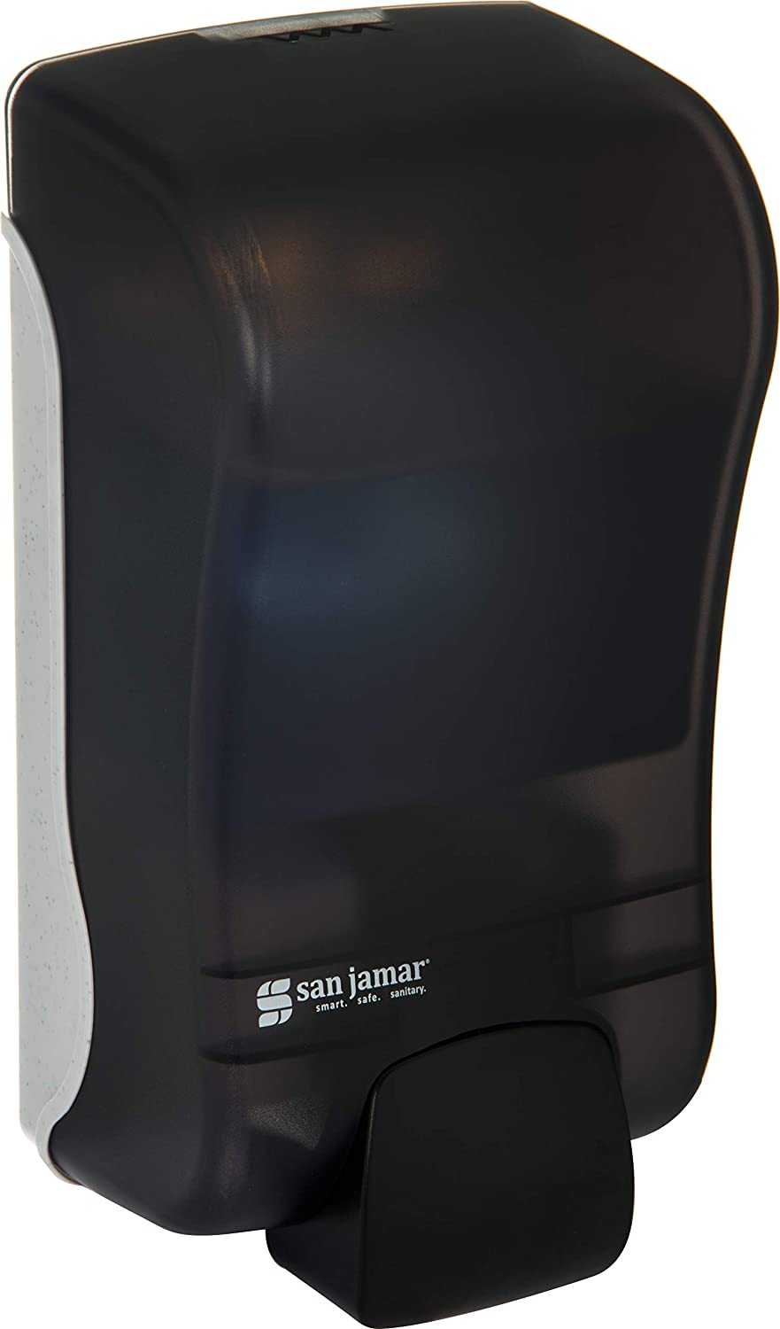 San Jamar SF1300TBK SF1300 Rely Manual Foam Soap Dispenser, 1300 mL, Black Pearl: Amazon.com: Industrial & Scientific