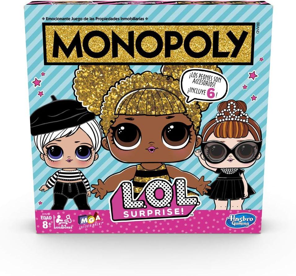 Monopoly- LOL Surprise (Hasbro E7572105): Amazon.es: Juguetes y juegos