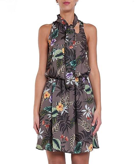 9712a2425dd Liu Jo W18345 T9522 Dress Women: Amazon.co.uk: Clothing