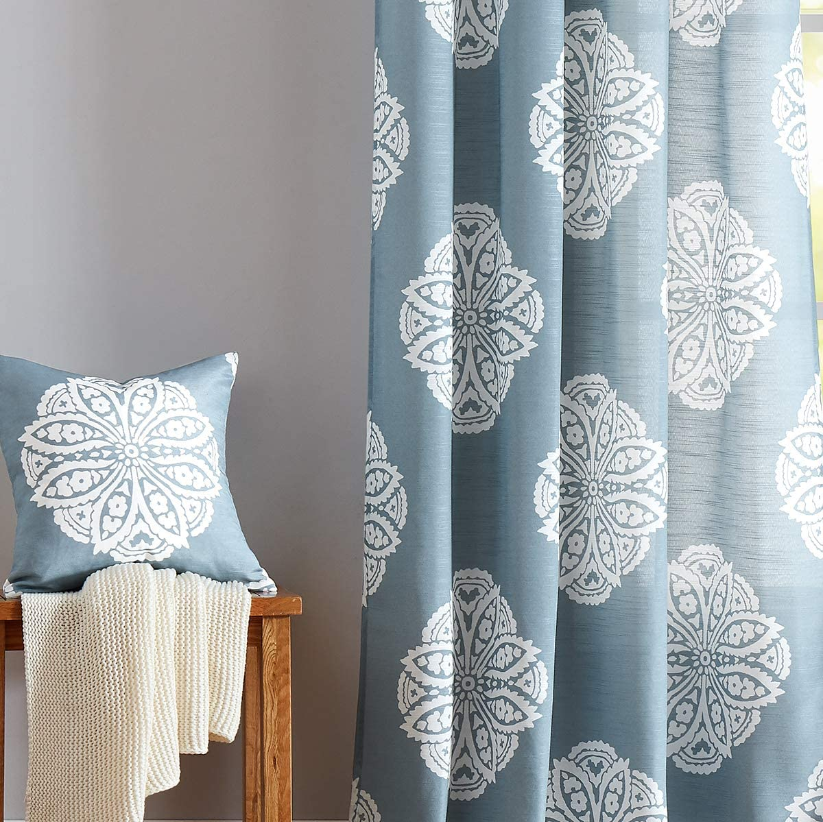 Best curtains light grey blue living room - Your House
