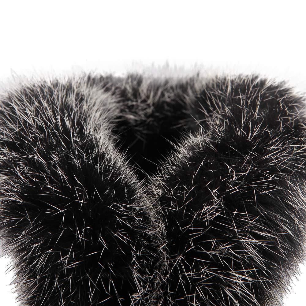 QINGMM Frauen Frauen Frauen Mode Wildleder Schnee Stiefel 2018 Winter Casual Flache Baumwolle Stiefel Große Größe Schwarz 42 EU 921ca2