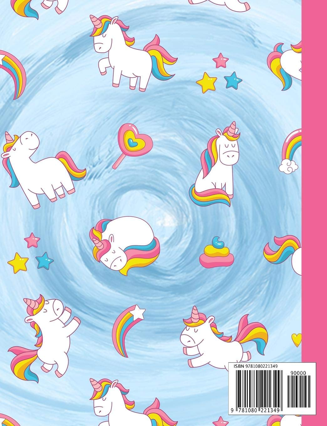Composition Book Magic Rainbow Unicornado Unicorn Tornado