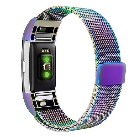 13 opinioni per Fitbit Charge 2 Cinturino Simpeak Cinturino in Acciaio Inossidabile Band Loop