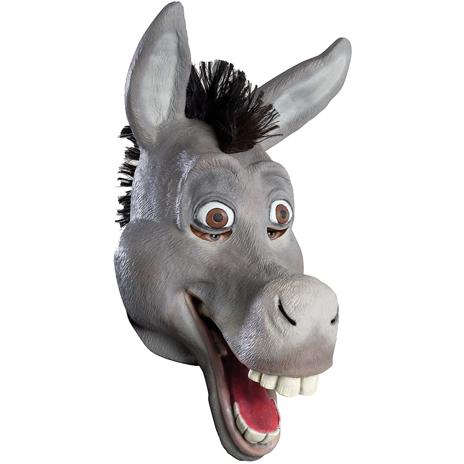 sc 1 st  Amazon.com & Amazon.com: Shrek Costume Latex Donkey Mask #68147: Clothing
