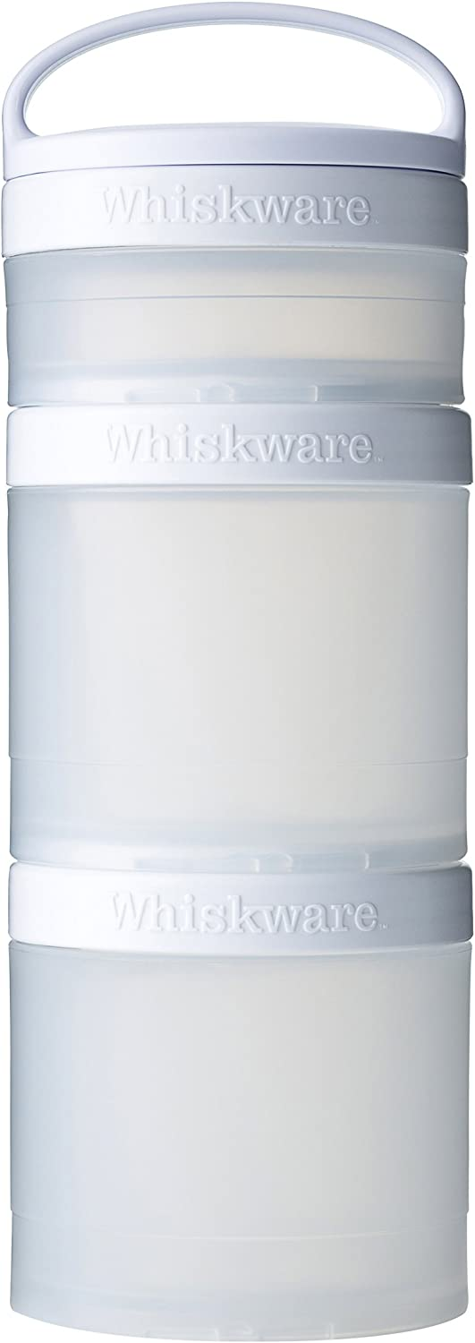 Whiskware Stackable Snack Pack White