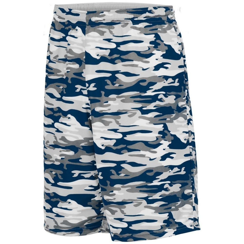 Augusta Sports Mens Reversible Wicking Short Pack of 3