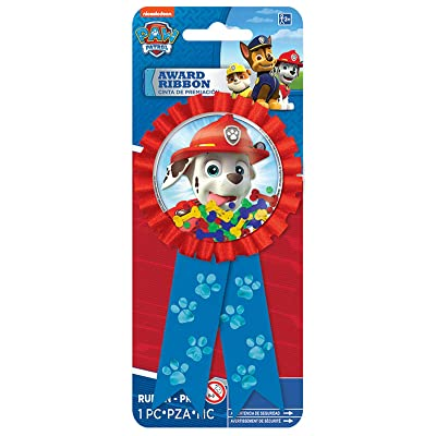 Amscan PAW Patrol Award Ribbon: Clothing