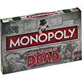 Winning Moves - 332407 - The Walking Dead Monopoly Survival Edition - Version Import