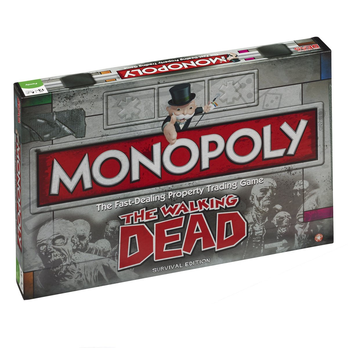 THE WALKING DEAD MONOPOLY SURVIVAL EDITION (UK VERSION)