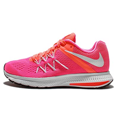 in stock fb9a7 d3df5 Amazon.com | Nike Womens Wmns Zoom Winflo 3, PINK BLAST ...