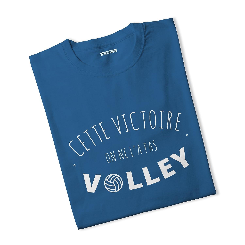 Sport is Good T-Shirt Garç on Cette Victoire, on ne l'a Pas Volley on ne l' a Pas Volley