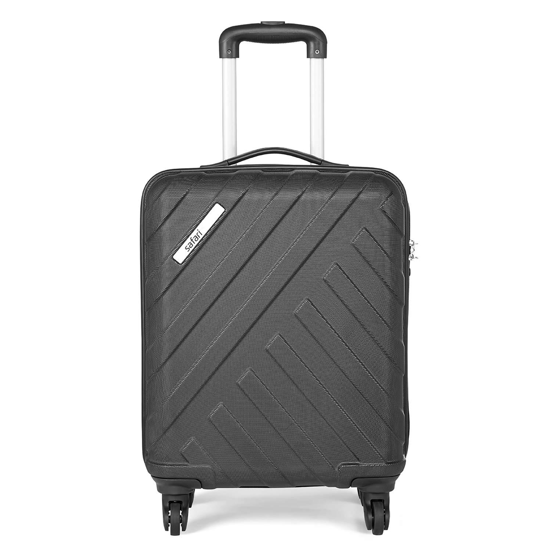 Safari RAY Polycarbonate 53 cms Black Hardsided Cabin Luggage