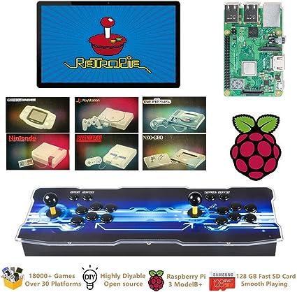 RetroPie 4.4 Retro Emulation Station for Raspberry Pi Class 10 Micro SD