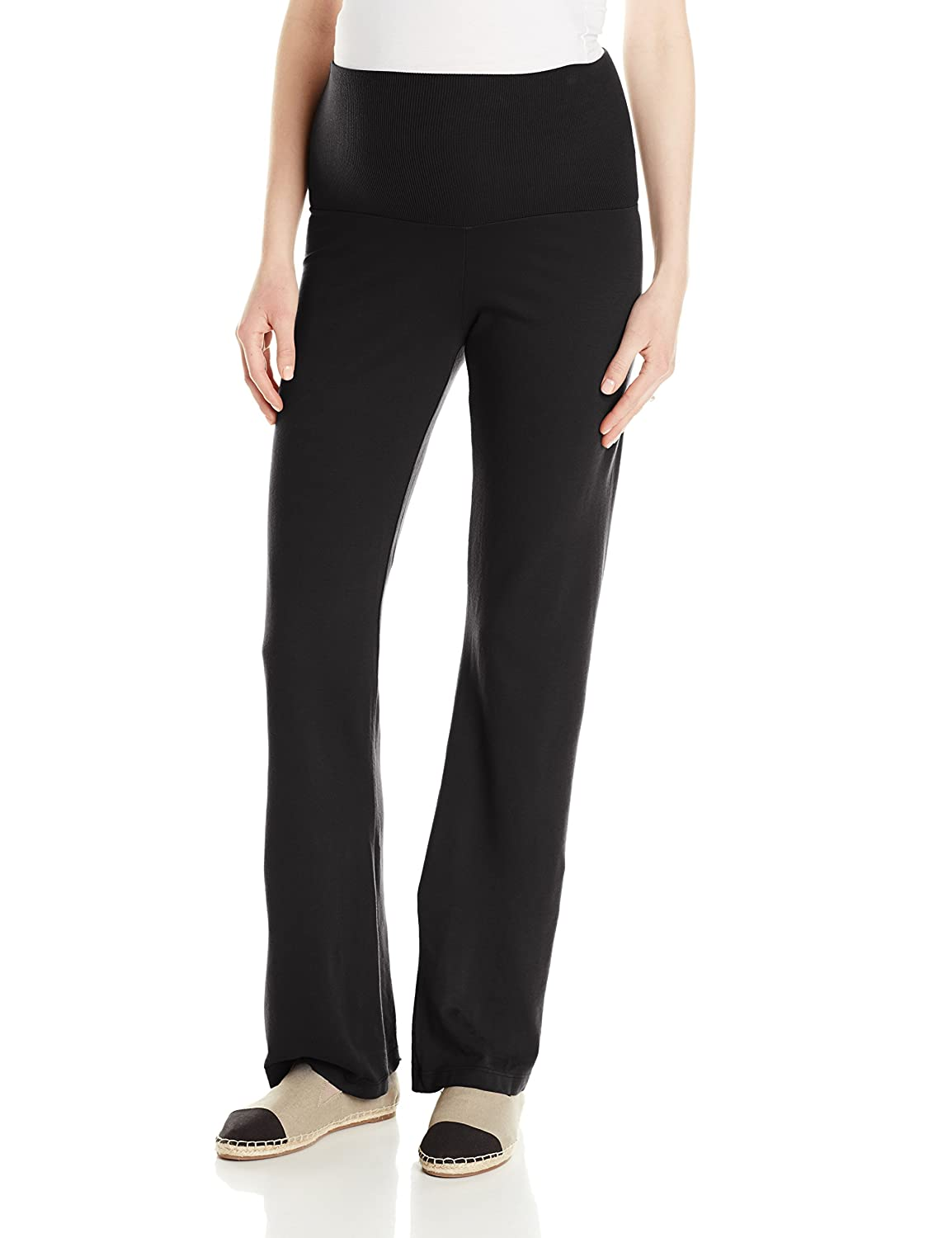 LA Made Women's Maternity Noah Pant Black Small LA Made Maternity MA-FT114