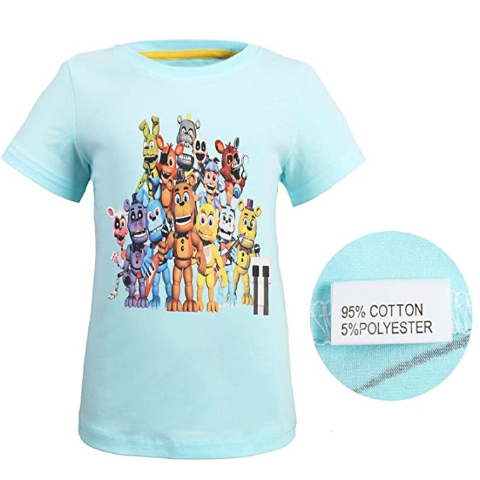 Amazon.com: FashionXXX FNAF Camisa de Merch de algodón para ...