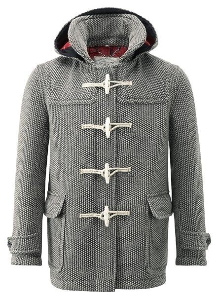 Abbigliamento it Cappotto Amazon Mayfair Grigio Montgomery Uomo wg6BZcB1qT