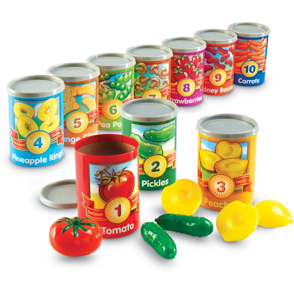 amazon com learning resources one to ten counting cans toys u0026 games