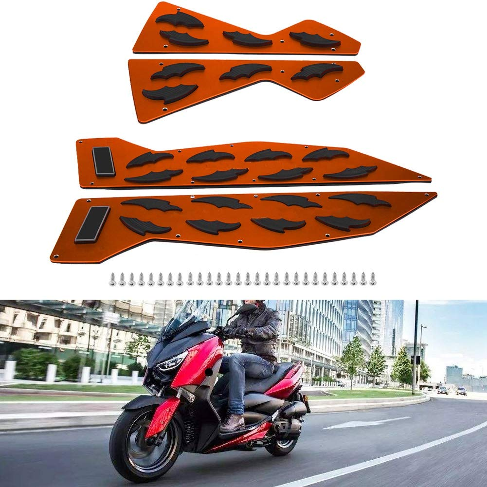 titanio KIMISS 1 par de Clavijas de aluminio para motocicleta Reposapi/és Paso Pad para NMAX155 NMAX125