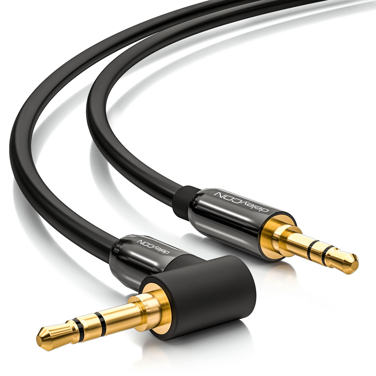 deleyCON 1m Klinkenkabel 3,5mm AUX Kabel Stereo Audio: Amazon.de ...