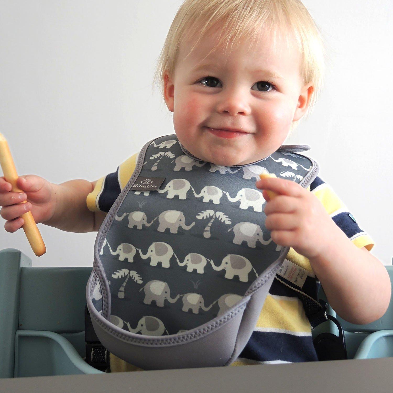 Foxes Feeding Bibs for Babies Bibetta Ultrabib Baby Bib with Pocket