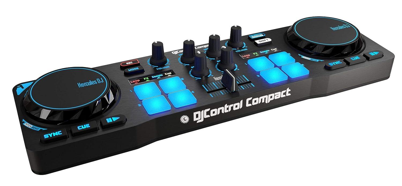 (Renewed) Hercules Djcontrol Compact Super-Mobile USB