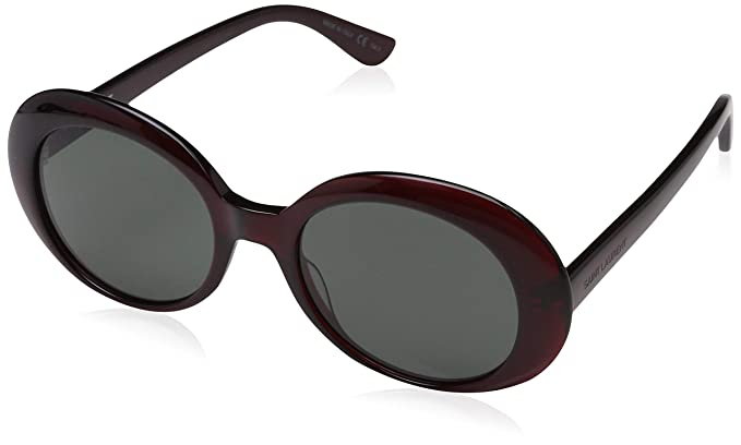 Saint Laurent SL 98 California 009 Gafas de Sol, Rojo (9 ...