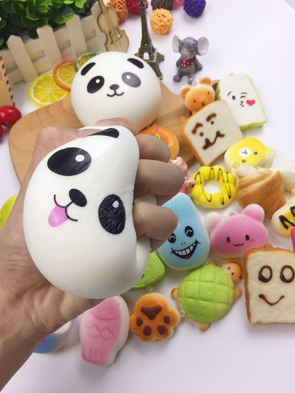 60pcs Jumbo medium mini pack slow rising cheap squishies kawaii Stress Relief collection gift squishy toy by Originnt (Image #6)