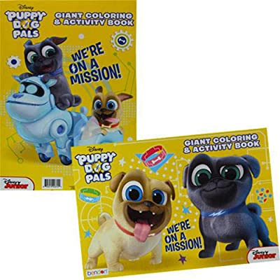 Bendon Publishing Puppy Dog Pals Giant Coloring and Activity Book (1): Toys & Games