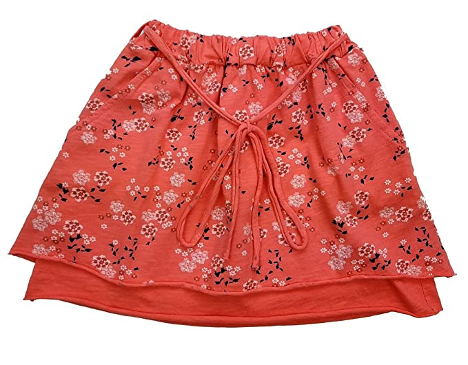 Girls Fashion - Falda - Trapecio o Corte en A - Floral - para niña ...