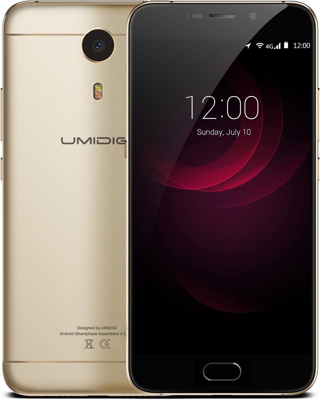 UMIDIGI Plus - Smartphone Libre 4G LTE Android 6.0 (Helio P10 Octo ...