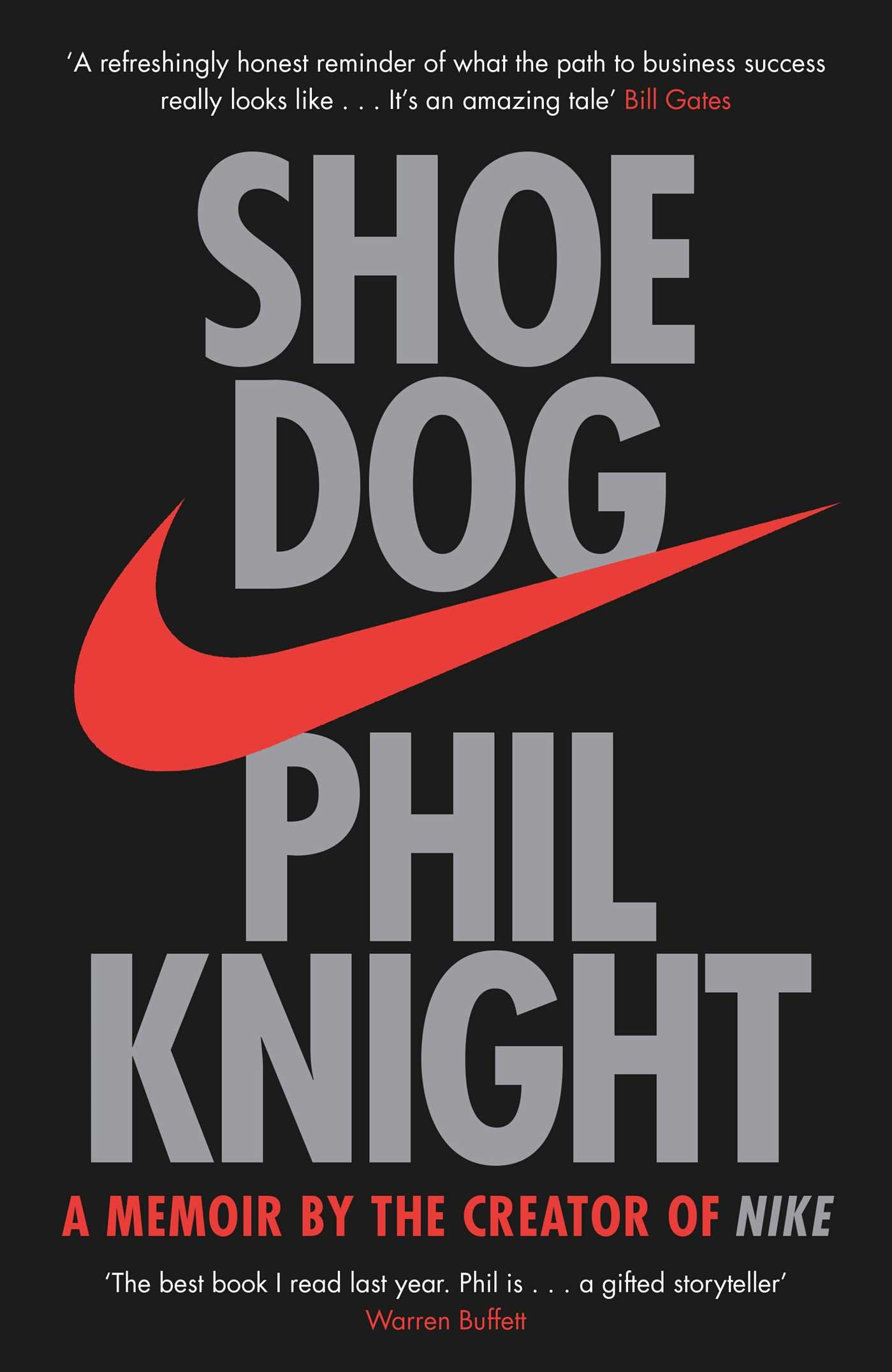 Image result for Shoe Dog, by Phil Knight from Nike.