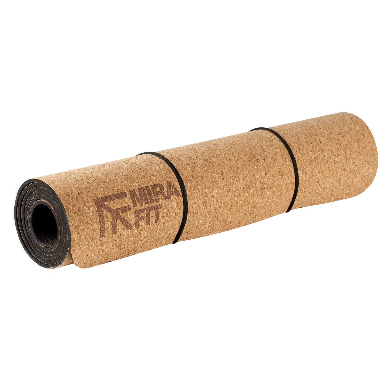 Mirafit 6mm Natural Cork Yoga Mat